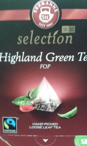 Teekanne Selection Highland Geen Tea FOP