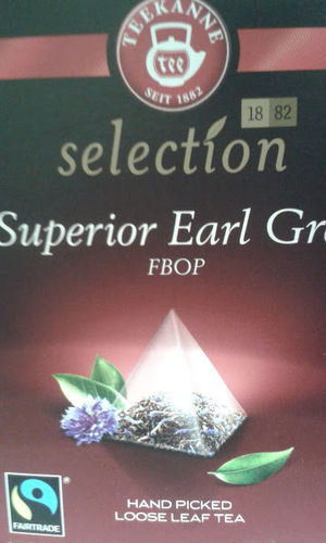 Teekanne Selection Earl Gray Superior FBOP